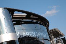 McLaren Honda Paddock gebouw