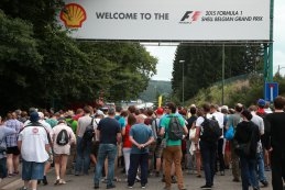 Toeschouwers Spa Grand Prix F1 2015