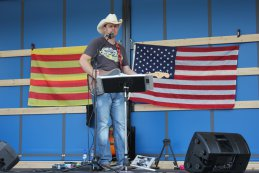 Muzikaal optreden NWES American Speed Festival 2015