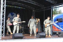 Muzikaal optreden U.S. Army NWES American Speed Festival 2015