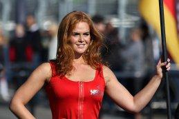 grid girl 2015 Blancpain Sprint Series Zandvoort