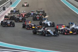 start GP Abu Dhabi 2015
