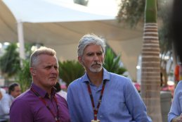 Johnny Herbert & Damon Hill