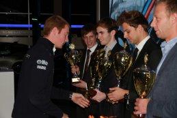 Uitreiking BMW Clubsport Trophy Awards door Maxime Martin