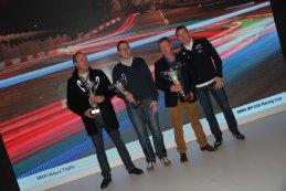 Podium Teamklassement BMW Clubsport Trophy Belgium