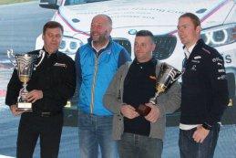 Podium teamklassement BMW M235i Racing Cup Belgium