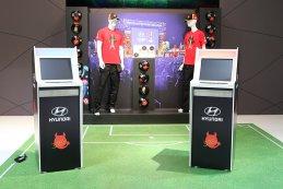European Motor Show Brussel - hyundai voetbal