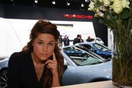 European Motor Show Brussel - Hostessen Porsche