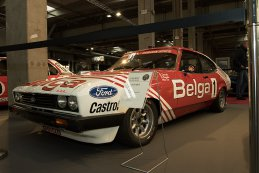Antwerp Classic Salon 2016 - Ford Capri mk3, Belga, Semoulin Racing