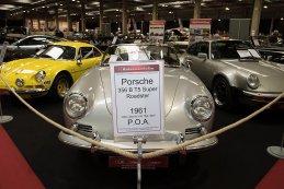 Antwerp Classic Salon 2016 - Porsche 356 B T5 Roadster 1961