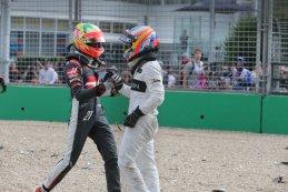 Esteban Gutiérrez & Fernando Alonso