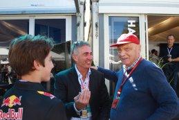 Niki Lauda en Mick Doohan