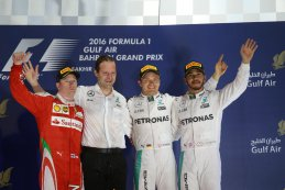 Podium GP bahrein 2016