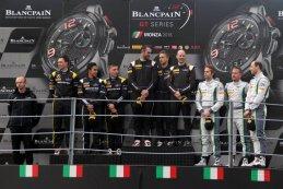 Podium Blancpain Race Monza 2016