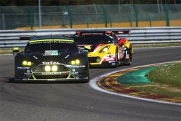 Aston Martin Racing - Aston Martin Vantage V8 vs. Labre Competition - Chevrolet Corvette C7-Z06