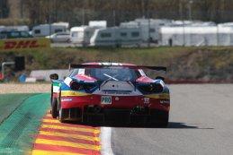 WEC Race Francorchamps 2016 AF Corse Ferrari 488 GTE