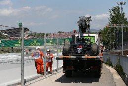 GP Spanje 2016 Opgave Fernando Alonso