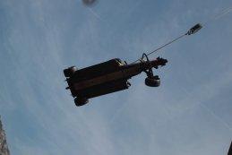 beschadigde Red Bull Racing van Max Verstappen