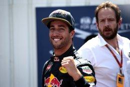 Daniel Ricciardo blij na zijn eerste pole van het seizoen