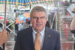 Thomas Bach voorzitter Olympische spelen