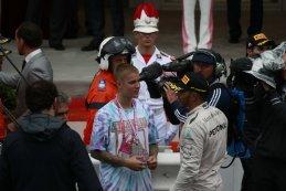 Justin Bieber & Lewis Hamilton