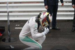 Lewis Hamilton winnaar Monaco GP 2016