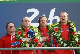 Jeff Segal - Bill Sweedler - Townsend Bell - Scuderia Corsa