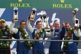 Signatech Alpine #36 - winnaars LMP2 24 Heures du Mans 2016