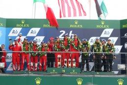 podium GTE Am 24 Heures du Mans 2016