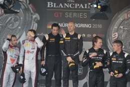 Podium Main sprint race Blancpain Nurburgring 2016