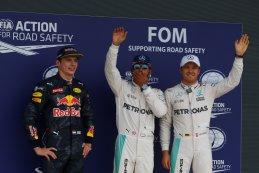 podium F1 GP van Groot-Brittannië 2016