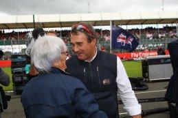 Bernie Ecclestone & Nigel Mansell