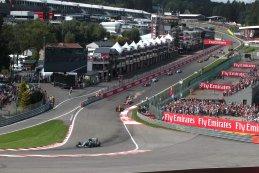 Start F1 GP België 2016