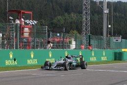 Finish Nico Rosberg - Mercedes AMG Petronas Formula One Team