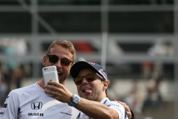 Jenson Button & Felipe Massa