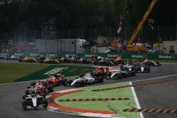 Start F1 GP Italië 2016