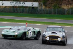Ford GT40 & Aston Martin DB4