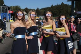 European Le Mans Series Promo Girls