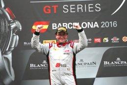 Enzo Ide - kampioen Blancpain GT Series Sprint Cup 2016