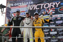 Frédéric Gabillon, Anthony Kumpen & Alon Day - Top 3 Eindstand 2016 NWES Elite 1