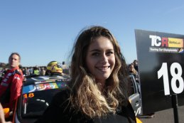 Grid Girl TCR Benelux Mettet 2016