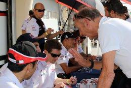 Signeerstand Toyota Gazoo Racing