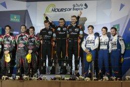Podium LMP2 WEC 6 Hours of Bahrain 2016