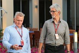 Johnny Herbert & Damon Hill