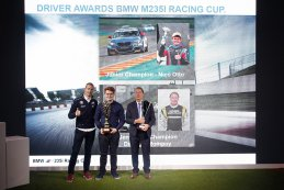 Podium Junior & Gentleman Champion BMW M235i Racing Cup 2016