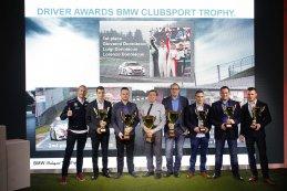 Podium Piloten BMW Clubsport Trophy 2016