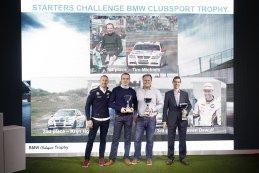 Podium Starters Challenge BMW Clubsport Trophy