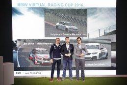 Podium BMW Virtual Racing Cup 2016
