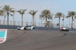 Crash tussen Graff Ligier en Barwell Motorsport Lamborghini
