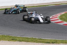 Lance Stroll & Lewis Hamilton - Williams & Mercedes